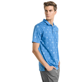 Thumbnail 1 of Verdant Herren Golf Polo, Bleu Azur, medium
