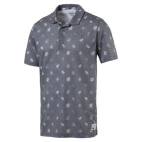 Thumbnail 4 of Verdant Men's Golf Polo, QUIET SHADE, medium
