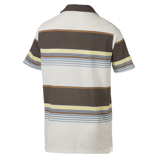 Pipeline Men's Polo, Chocolate Brown, large