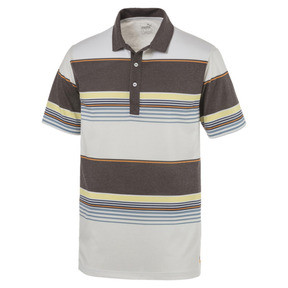 Thumbnail 4 of Polo de golf Pipeline pour homme, Chocolate Brown, medium