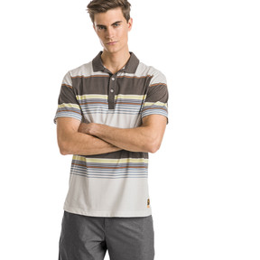Thumbnail 1 of Polo de golf Pipeline pour homme, Chocolate Brown, medium