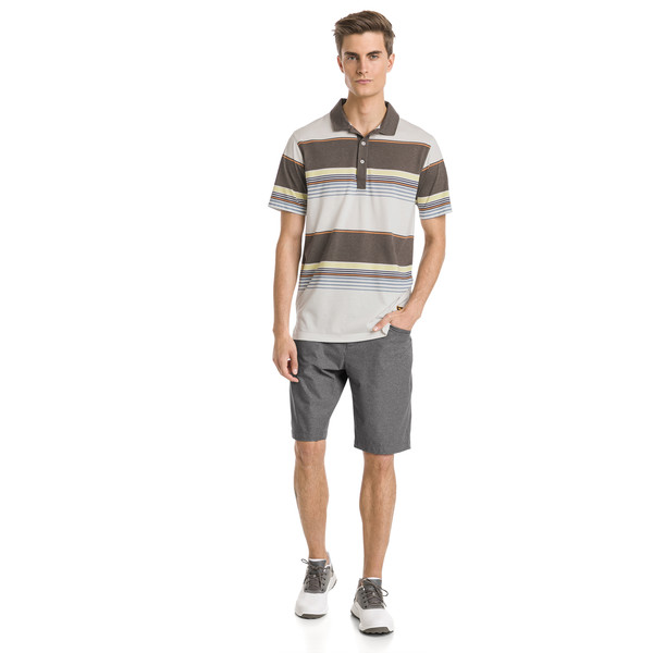 Polo de golf Pipeline pour homme, Chocolate Brown, large