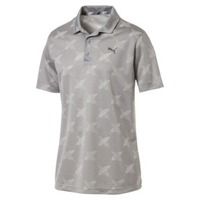 Thumbnail 4 of AlterKnit Palms Men's Golf Polo, Quarry, medium