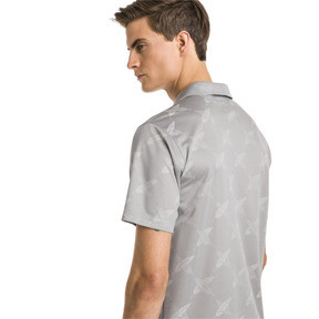 Thumbnail 2 of AlterKnit Palms Men's Golf Polo, Quarry, medium