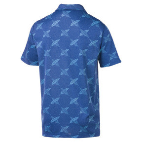 Thumbnail 5 of AlterKnit Palms Herren Golf Polo, Surf The Web, medium