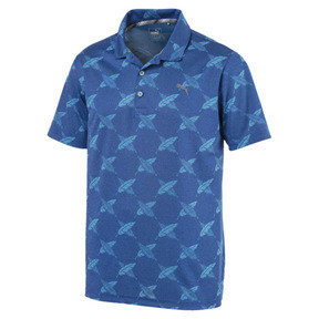 Thumbnail 4 of AlterKnit Palms Men's Golf Polo, Surf The Web, medium