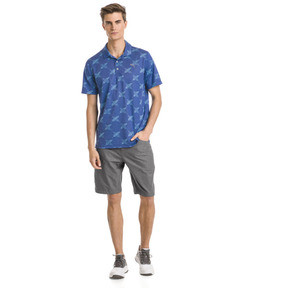 Thumbnail 3 of AlterKnit Palms Men's Golf Polo, Surf The Web, medium