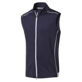 Thumbnail 1 of PWRWarm Men's Golf Gilet, Peacoat, medium