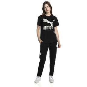 Thumbnail 3 of Short Sleeve Women's Tee, Cotton Black-metal, medium