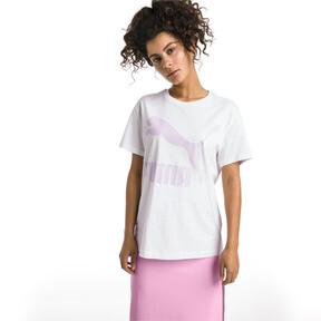 Thumbnail 2 van T-shirt met korte mouwen voor dames, Puma White-OUDROZE, medium