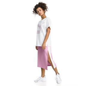 Thumbnail 5 van T-shirt met korte mouwen voor dames, Puma White-OUDROZE, medium