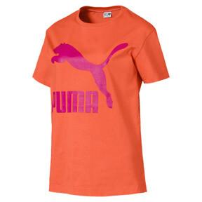 Miniatura 1 de Camiseta Classics con logotipo para mujer, Nasturtium, mediano