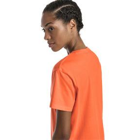 Miniatura 3 de Camiseta Classics con logotipo para mujer, Nasturtium, mediano