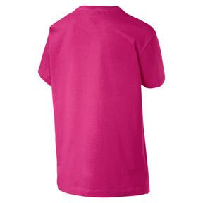 Thumbnail 4 van T-shirt met korte mouwen voor dames, Fuchsiapaars-1, medium