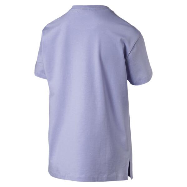 Camiseta Classics con logotipo para mujer, Sweet Lavender, grande