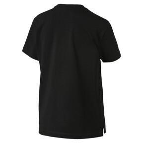 Thumbnail 4 van T-shirt met korte mouwen voor dames, Cotton Black-logo fill, medium