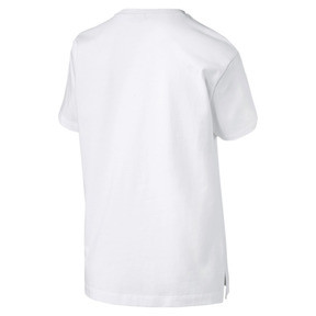Thumbnail 5 van T-shirt met korte mouwen voor dames, Puma White-Metaal, medium