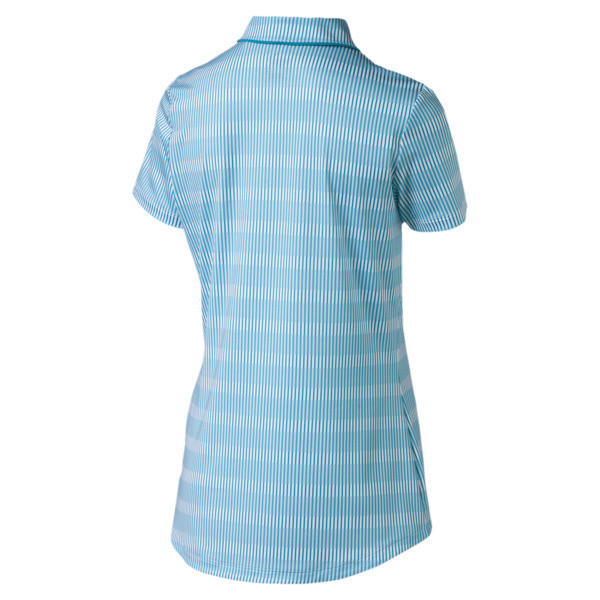 Forward Tees Women's Golf Polo, Caribbean Sea, large