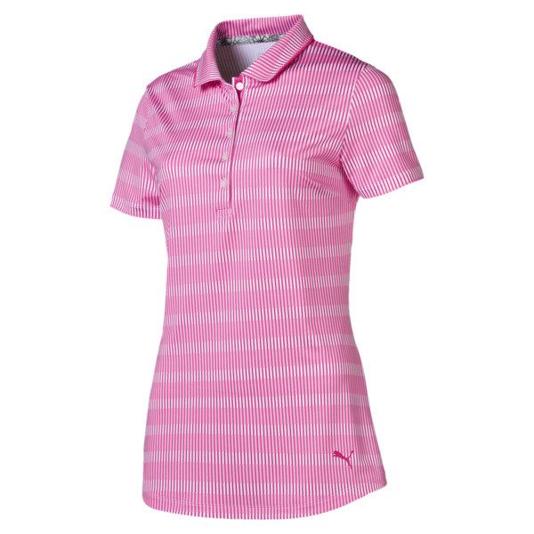 Forward Tees Women's Golf Polo, Fuchsia Purple, large