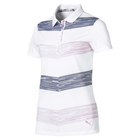 Thumbnail 4 of Race Day Women's Golf Polo, Pale Pink, medium