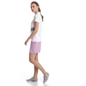 Thumbnail 3 of Race Day Women's Golf Polo, Pale Pink, medium