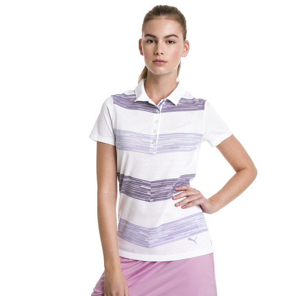Race Day Women's Golf Polo, Sweet Lavender, large