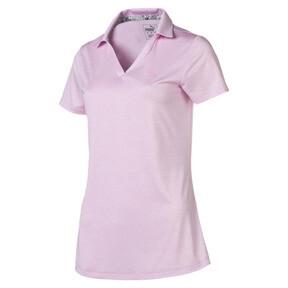 Thumbnail 1 of Women's Super Soft Polo, Pale Pink Heather, medium