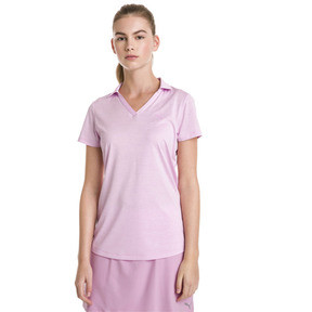 Thumbnail 1 of Polo de golf Super Soft pour femme, Pale Pink Heather, medium