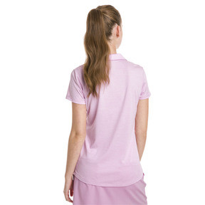 Thumbnail 2 of Polo de golf Super Soft pour femme, Pale Pink Heather, medium