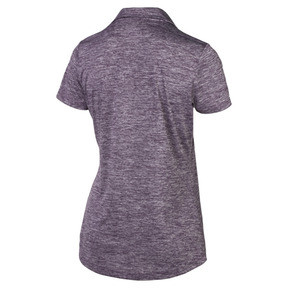 Thumbnail 5 of Super Soft Women's Golf Polo, Indigo Heather, medium