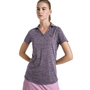 Thumbnail 1 of Super Soft Women's Golf Polo, Indigo Heather, medium