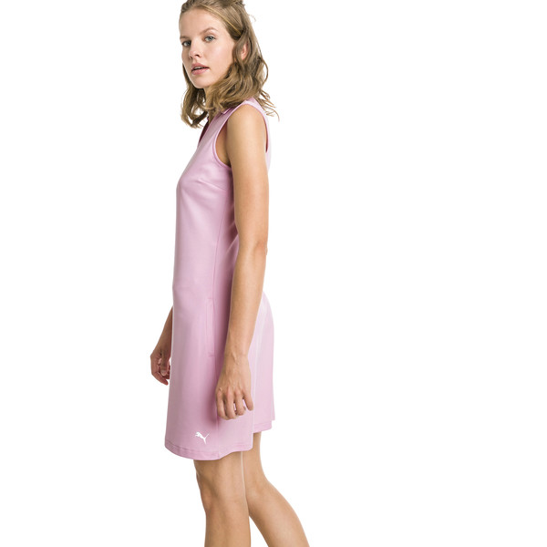 Fair Days and Fairways Women's Golf Dress, Pale Pink, large