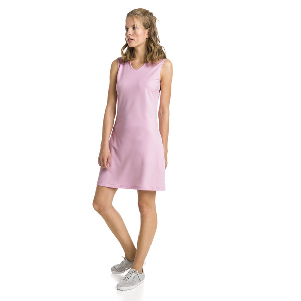 Fair Days and Fairways golfjurk voor vrouwen, Bleekroze, large