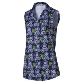 Blossom Sleeveless Women's Golf Polo