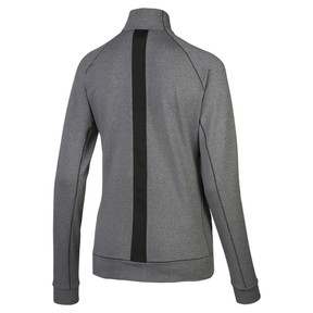 Thumbnail 2 of Vented Women's Golf Jacket, Dark Gray Heather, medium