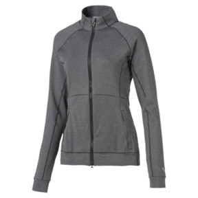 Thumbnail 1 of Vented Women's Golf Jacket, Dark Gray Heather, medium