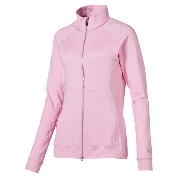 Blouson de golf Vented pour femme, Pale Pink Heather, large