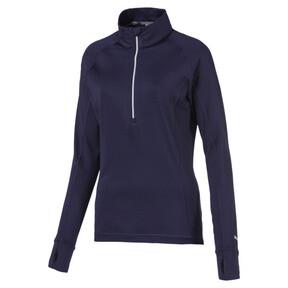 Thumbnail 1 of Rotation 1/4 Zip Women's Golf Pullover, Peacoat, medium
