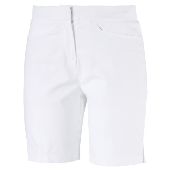Pounce Women's Golf Bermudas, Bright White, large