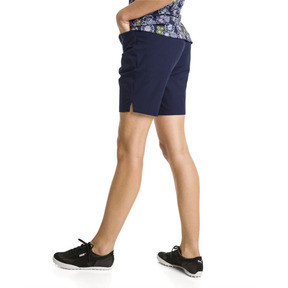 Thumbnail 2 of Pounce Women's Golf Bermudas, Peacoat, medium