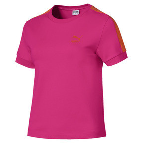 Thumbnail 1 of Classics Tight T7 Women's Tee, Fuchsia Purple, medium