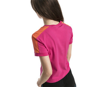 Thumbnail 3 of Classics Tight T7 Women's Tee, Fuchsia Purple, medium