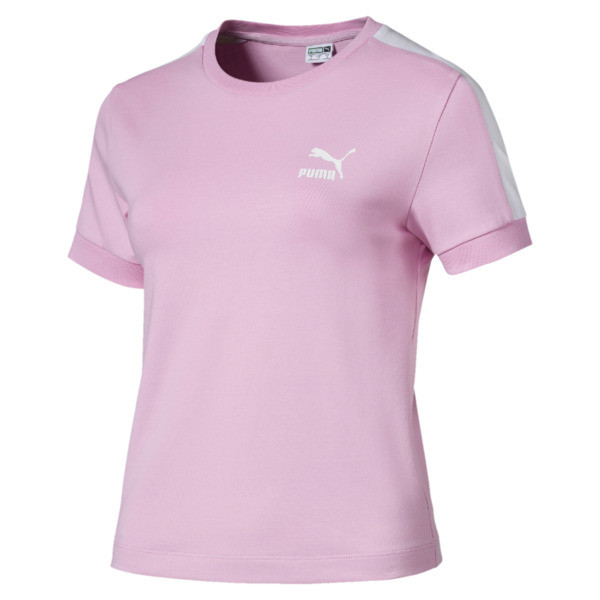 Classics Tight T7 Women's Tee, Pale Pink, large