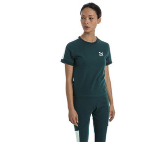 Thumbnail 1 of Classics Tight T7 Women's Tee, Ponderosa Pine, medium