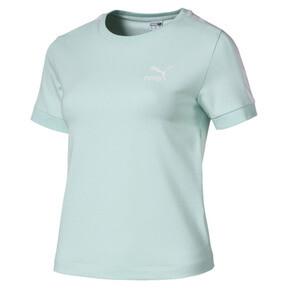 Thumbnail 1 van Classics Tight T7 T-shirt voor dames, Fair Aqua, medium