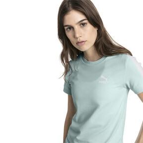 Thumbnail 2 van Classics Tight T7 T-shirt voor dames, Fair Aqua, medium