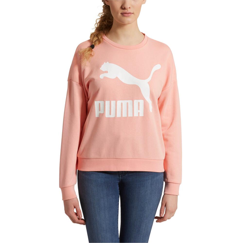 Image Puma Classics Logo Women's Crewneck Sweatshirt #2