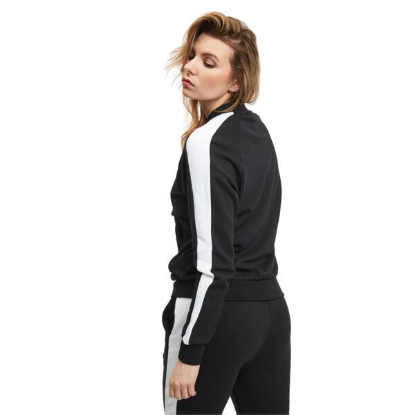 Chaqueta deportivaClassicsT7 para mujer, Cotton Black, grande