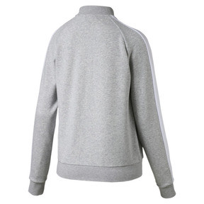 Thumbnail 2 of Classics T7 Women's Track Jacket, Light Gray Heather, medium
