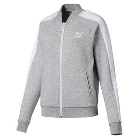 Thumbnail 1 of Classics T7 Women's Track Jacket, Light Gray Heather, medium